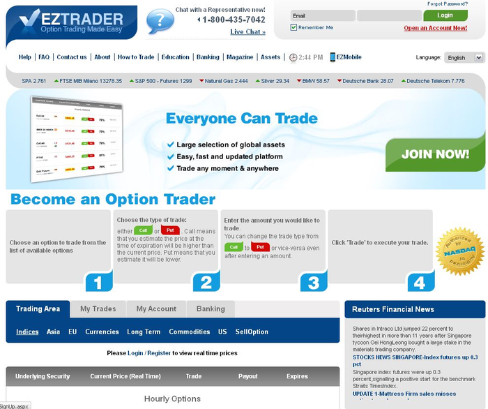 ez trader review